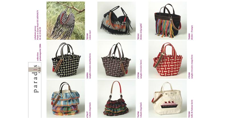 Paradis 83-67 est une marque de créartion de sac, créée et lancée à destination du marché japonais