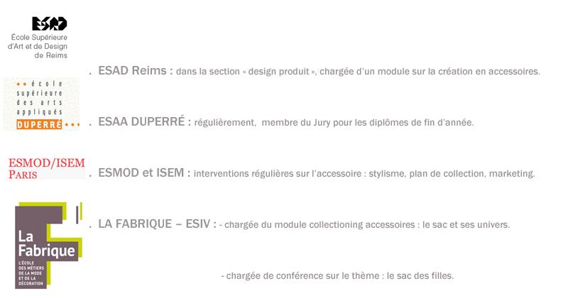 cours jury sac collectionning plan de collection accessoire textile chapeau gant ceinture marketing esmod isem la fabrique esaa duperré