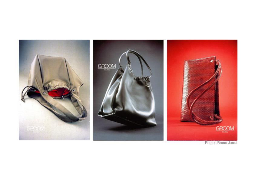 groom creation collection style maroquinerie petite maroquinerie stylisme photo identité visuelle